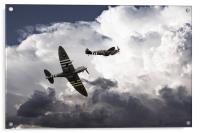 Mighty Spitfires , Acrylic Print