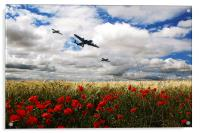 Battle Of Britain Memorial Tribute , Acrylic Print