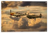 Old Flying Machines , Acrylic Print