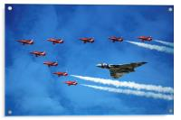 Vulcan with the Reds, Acrylic Print
