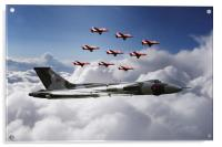 In Formation With XH558, Acrylic Print