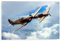 The BBMF Spitfire and Hurricane, Acrylic Print