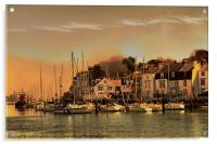 Weymouth Harbour, Acrylic Print