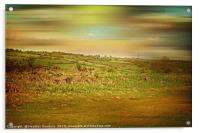 Felton Common, Acrylic Print
