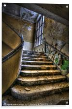 Going up and wide, Acrylic Print