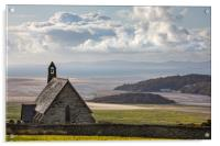 Saint Tecwyn's Church, Acrylic Print