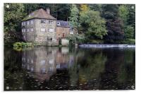 The Fulling Mill, Acrylic Print