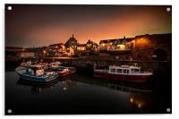 Seahouses Harbour, Acrylic Print