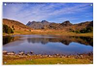 Blea Tarn - Lake District, Acrylic Print