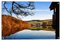 Pooley Bridge Reflections, Acrylic Print
