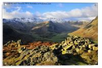 Great langdale, Acrylic Print
