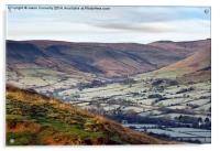 Vale Of Edale, Acrylic Print