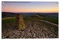 Views From Mam Tor, Acrylic Print