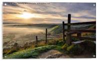 Views From Hollins Cross, Acrylic Print