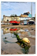 Tenby Harbour, Acrylic Print