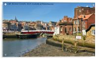 River Esk, Whitby, Acrylic Print