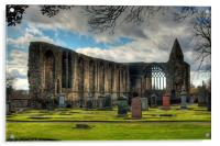 Refectory and Gatehouse, Acrylic Print