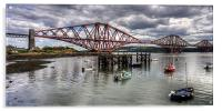 The Bridge from North Queensferry Bay, Acrylic Print