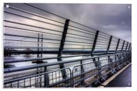 View from the Queensferry Crossing, Acrylic Print