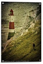 On Beachy Head, Acrylic Print