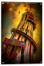 Helter Skelter, Acrylic Print