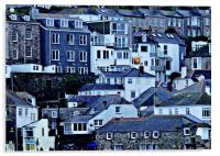 A Slice of St Ives, Acrylic Print