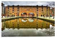 Middle Warehouse Castlefield Manchester, Acrylic Print