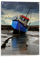 Fishing Boat 3 Canvases & Prints, Acrylic Print
