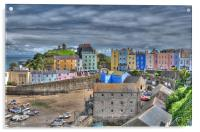 Tenby Harbour 3, Acrylic Print