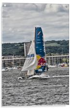 Extreme 40 Team Red Bull, Acrylic Print