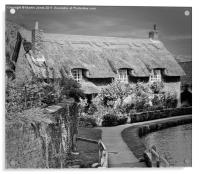 Thatched Cottage,Thornton-le-Dale, Acrylic Print