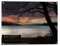 Remembering Campbell At Coniston, Acrylic Print