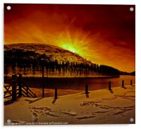 Chill Winter Comes to Howden, Acrylic Print