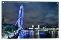 London Eye - Big River Vista, Acrylic Print