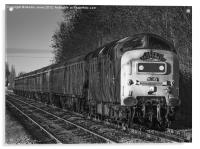 Lincoln Markets Deltic Special, Acrylic Print