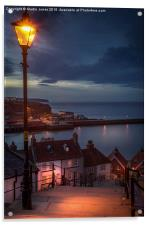 The 199 Steps of Whitby, Acrylic Print