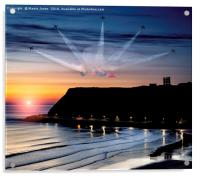 Reds Scarborough Dawn, Acrylic Print