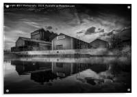 River Don Steelworks, Acrylic Print