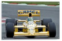Lotus Type 101T F1 Car, Acrylic Print