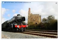 The Cathedrals Express 60103, Acrylic Print