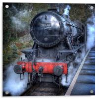 Under Steam Again., Acrylic Print
