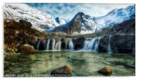 Fairy Pools,Isle of Skye, Acrylic Print