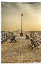 Sunrise over Swanage Jetty, Acrylic Print