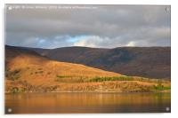 An Autumn View Across Loch Linnhe, Acrylic Print