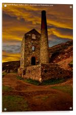 Towanroath Engine House, Acrylic Print