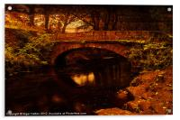 Evening at Rivelin, Acrylic Print