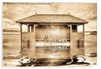 Shelter In The Floods, Acrylic Print