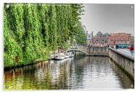 Picturesque Brugge, Acrylic Print
