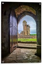 Crossraguel Abbey Tower House , Acrylic Print