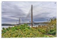 The Queensferry Crossing, Acrylic Print